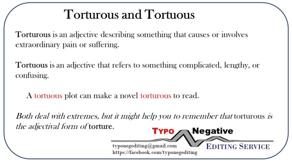 Torturous and Tortuous